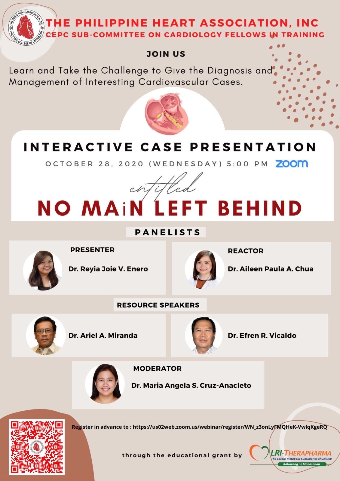 No Main Left Behind: Interactive Case Presentation