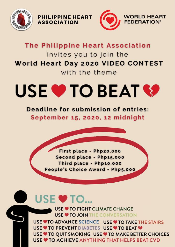 PHA World Heart Day Video Contest